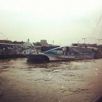Photo taken at Greenwich Pier by Choneng D. on 5/23/2012