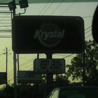 Photo taken at Krystal by Jessica P. on 3/20/2012