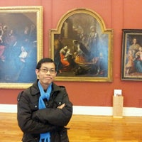 Photo taken at Musée des Beaux-Arts by Angga Reza F. on 11/25/2011