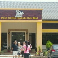 Photo taken at Desa Cattle (Sabah) Dairy Farm Sdn. Bhd. by Mustaffa B. on 9/17/2011