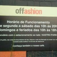 Foto tirada no(a) Offashion por Fernanda H. em 10/7/2011