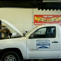 Photo taken at Prestige Auto Wash & Automotive by George C. on 3/23/2011