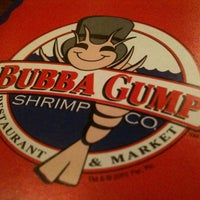 Photo taken at Bubba Gump Shrimp Co. by Lawrence G. on 12/24/2010