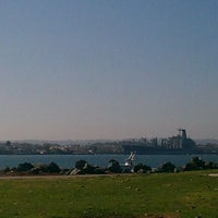 Photo taken at San Diego Bay by Peter P. on 1/19/2012