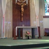 Photo taken at St. Charles Borromeo Catholic Church by Mark A. on 4/29/2012