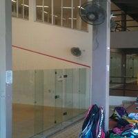 Photo taken at Singapore Polytechnic Squash Courts by Squash P. on 11/5/2011
