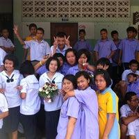 Photo taken at โรงเรียนบ้านหมากแข้ง by Dechsakda T. on 8/27/2012