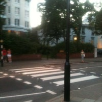 Photo taken at Abbey Road Crossing by Lory K. on 7/24/2012