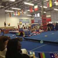 Photo taken at All Stars Gymnastics Academy by Mike E. on 6/8/2012