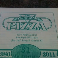 Photo taken at Original Pizza by MYKAL™ on 10/23/2011