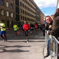 Photo taken at München Marathon by Thomas H. on 10/9/2011