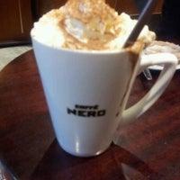 Photo taken at Caffè Nero by Penelope B. on 1/11/2012