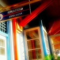 Photo taken at Stasiun Gedangan by Edo Z. on 7/19/2012