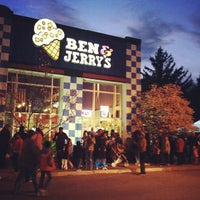 Photo taken at Ben & Jerry's by Patrick K. on 4/3/2012
