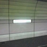 Photo taken at Hibiya Line Hatchobori Station (H11) by Takahiko I. on 8/23/2011