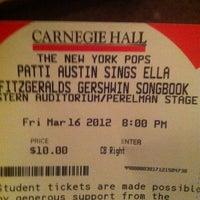 3/16/2012にMark S.がCarnegie Hallで撮った写真