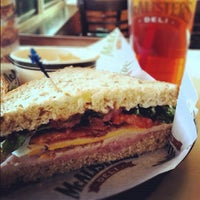 Photo taken at McAlister's Deli by Christina G. on 1/28/2012