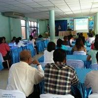 Photo taken at โรงเรียนวัดบางพลีน้อย by Non on 6/22/2012
