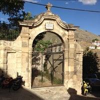 Photo taken at Jardín de los poetas by Domingo R. on 8/4/2012