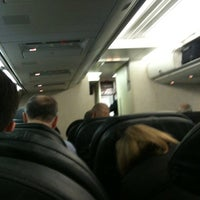 Photo taken at United Airlines Flight 732 by David B. on 3/7/2012