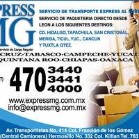 Photo taken at Transportes León - México by Francisco Sebastián G. on 3/21/2012