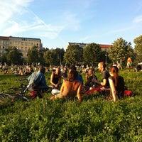 Photo taken at Görlitzer Park by Alexander on 7/23/2012