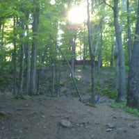 Photo taken at Marshall Street Pyramids Disc Golf Course by Josh W. on 5/19/2012