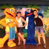 Photo taken at Sesame Street Safari Of Fun by Justin on 6/10/2012