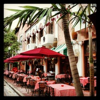 Photo taken at Espanola Way Village by Elio N. on 7/15/2012
