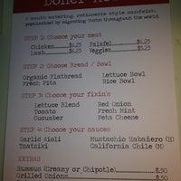 Photo taken at California Kebab by Justin C. on 3/13/2012