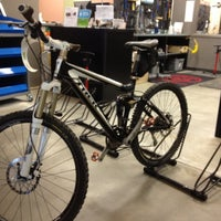 Photo taken at Mad Dog Cycles by Ben B. on 3/30/2012