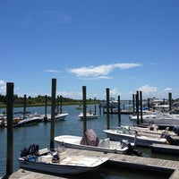 Photo taken at Dockside Restaurant & Bar by Kyle G. on 7/15/2012