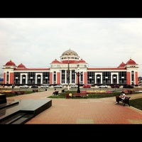 Photo taken at Ж/д вокзал Саранск by Alex on 8/10/2012