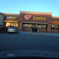 Photo taken at Love's Travel Stop by Christine B. on 4/7/2012