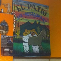 Photo taken at El Patio Cafe by Billy S. on 11/25/2011