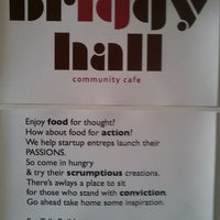 Photo taken at Briggy Hall Community Cafe by Chuck C. on 12/16/2011