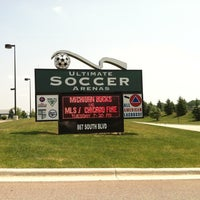 Photo taken at Ultimate Soccer Arena by Justin C. on 5/28/2012