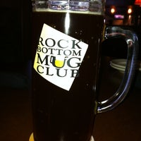 Photo taken at Rock Bottom Restaurant & Brewery by Nick N. on 1/1/2011