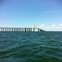 Photo taken at Sunshine Skyway Bridge by Jeff J. on 6/17/2012
