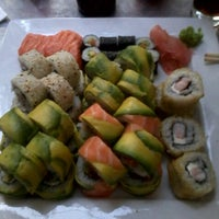 Photo taken at Niu Sushi by Lissette C. on 12/16/2011