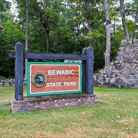 Photo taken at Bewabic State Park by Dïck 🇺🇸 on 9/5/2012