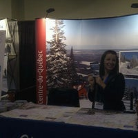 Photo taken at Toronto International Snowmobile Show by Louis C. on 10/15/2011