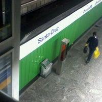 Foto tirada no(a) Estação Santa Cruz (Metrô) por Bruno U. em 9/14/2011