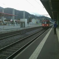 Photo taken at Gare d'Aigle by Francisco S. on 8/19/2011