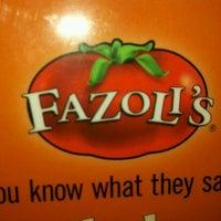 Photo taken at Fazoli's by Susan B. on 9/18/2011