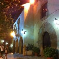 Photo taken at Restaurant La Font de Prades by Natalia S. on 8/21/2012