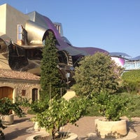Photo taken at Hotel Marqués de Riscal by Ana on 8/21/2012