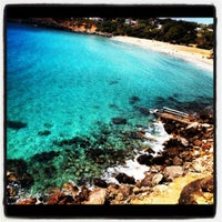 Photo taken at Cala Llenya by Jeffre M. on 5/2/2012