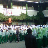 Photo taken at SD-SMP Muhammadiyah 7 by Bastian A.S on 7/9/2012