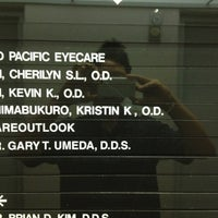 Photo taken at Mid pacific eyecare by Anthony S. on 10/18/2011